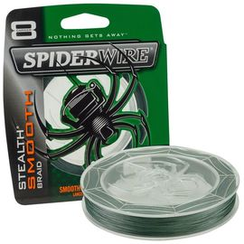 SpiderWire Stealth Smooth 8 Braid Moss Green 0,25 mm/27,3 kg je 100m